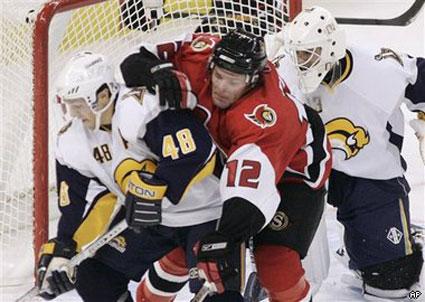 Sabres defeat Ottawa Senators