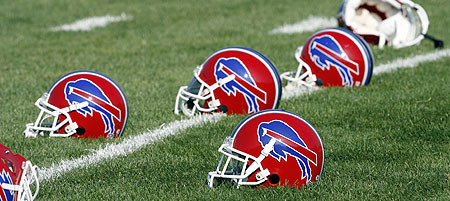 Buffalo Bills Helmets