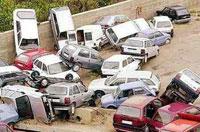 Car Pile Up