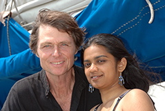 Reid Stowe and Soanya Ahmad