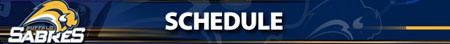 Sabres Schedule