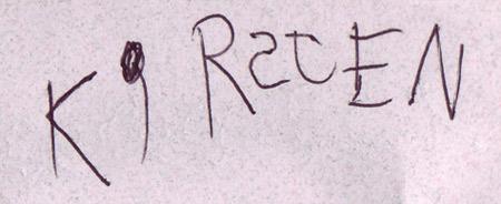 Kirstie's Signature