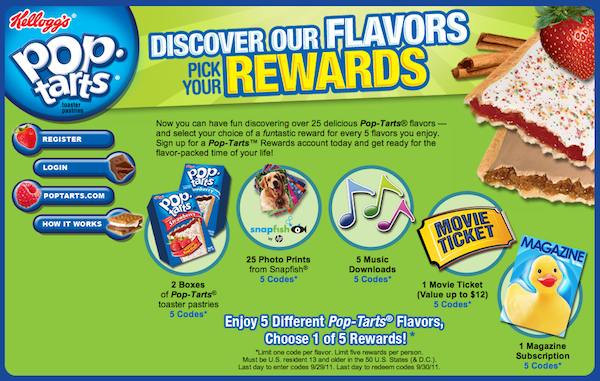 PopTarts Rewards