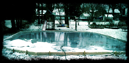 Project: Backyard Ice Rink (Part 1)   GregsHead