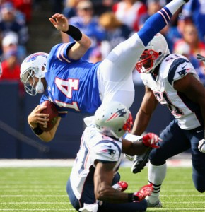 Buffalo Bills vs New England Patriots Sep 30 2012