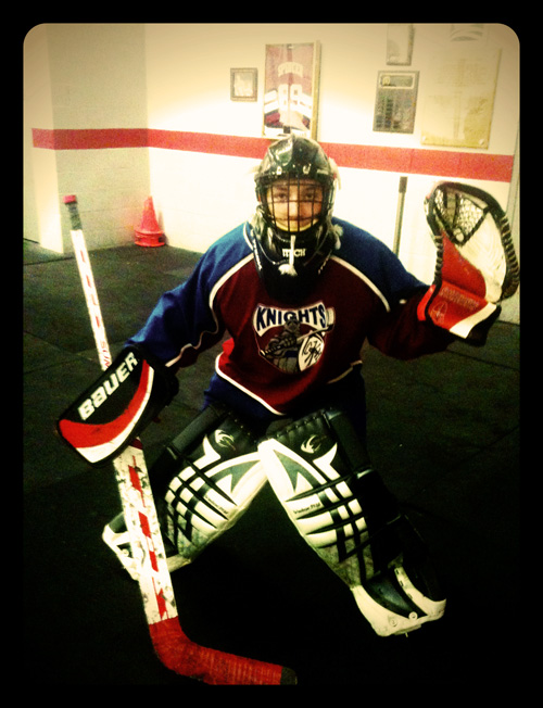 Ian The Goalie - Canandaigua Knights