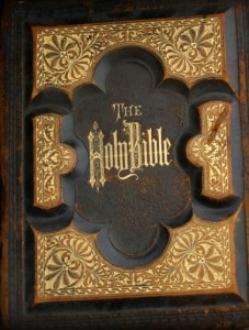 Old Bible Cover