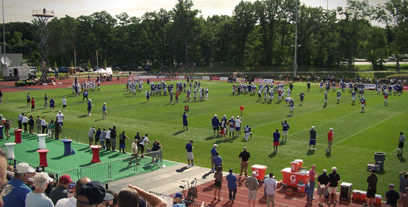 Buffalo Bills Training Camp 2013 - St. John Fisher College